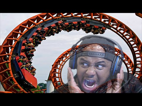 SCARIEST ROLLER COASTER EVER! (Planet Coaster #2)