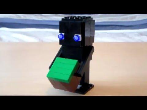 Lego Brickheadz Enderman Tutorial