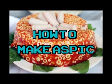 How To Make Aspic