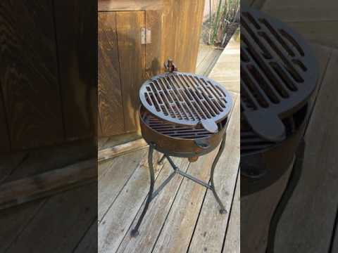 Reconditioned Lodge Outpost grill
