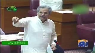 National Assembly Main Shafqat Mahmood Aur Khawaja Asif Aamne Saamne