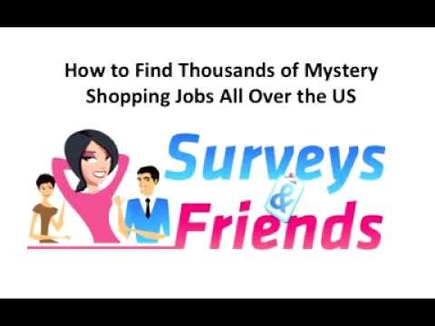Mystery Shopper Jobs - Find 1000s of Mystery Shopping Jobs All Over The US
