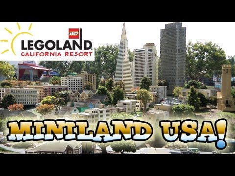 LEGO MINILAND USA at LEGOLAND, California - Full Overview in 1080p HD