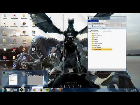 Skyrim - TUTORIAL - CONVERTER MODS DE PC E POR NO XBOX 360 - [RGH]