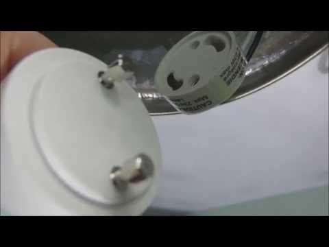Bathroom light bulb change