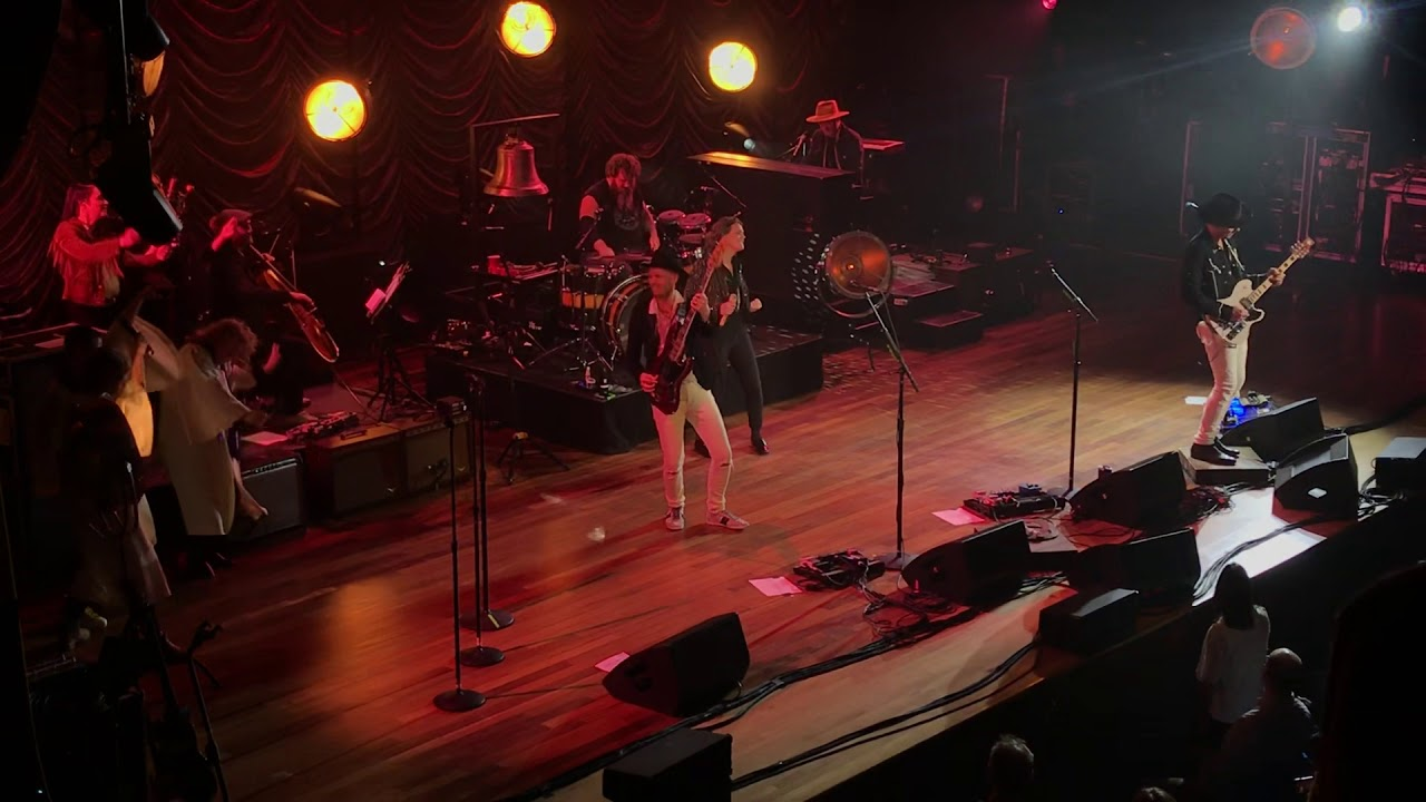"Brandi Carlile ""Total Eclipse of the Heart"" Ryman Auditorium Nashville 01/21/2020"