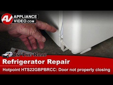 Hotpoint, GE & RCA Refrigerator Door Gasket repair and replacement