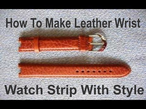how to change your wrist watch strip