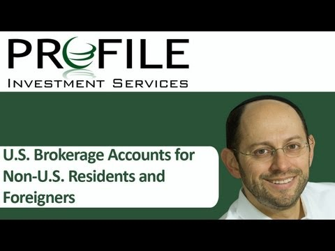 U S  Brokerage Accounts for Non U S  Residents and Foreigners with Douglas Goldstein, CFP®