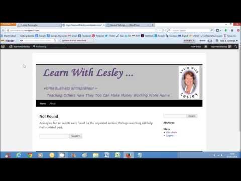 LearnWithLesley | How To Change The Header Image On Your Wordpress Blog