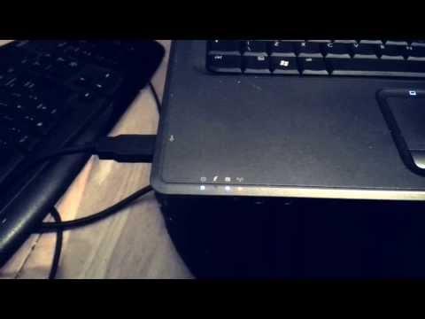 USB keyboard, laptop, the odd looking trace