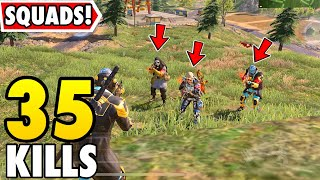 TEAMING UP WITH RANDOM SQUAD IN CALL OF DUTY MOBILE BATTLE ROYALE!