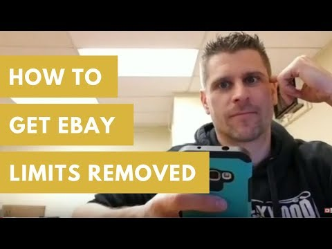 How To Get Ebay Seller Limits Removed (LIVE Call With Ebay)