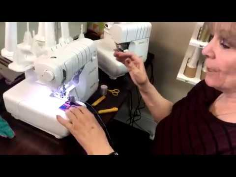 How to Make Wired Ribbon on the Serger: Machine Tip Tuesday