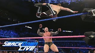 Orton and Zayn battle for spot on SmackDown