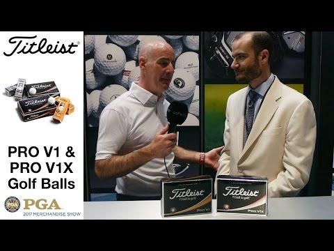 WHAT'S NEW? Titleist Pro V1 & Pro V1X Golf Balls