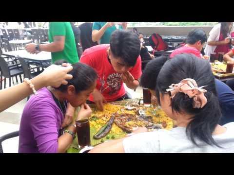 Seafood Island Ayala Cebu boodle fight Eating Contest