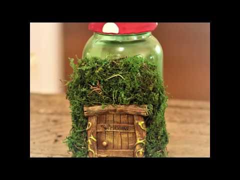 Magical Mason Jar Fairy Garden