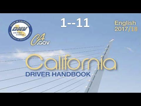 California Driver Handbook | Audiobook...(REAL VOICE)...DMV......1--11