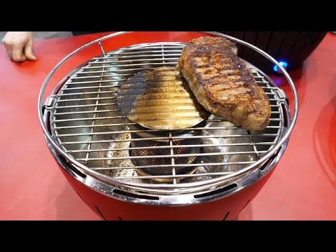 LotusGrill Hands-On: This smokeless charcoal grill is perfect for your balcony