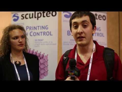 CES 2014 Sculpteo Batch Control