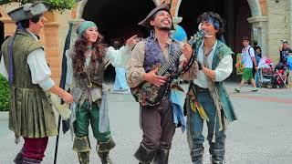 海賊体操の大事なところで噛むアントーニオ【海賊グリ】