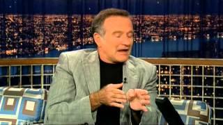 """Robin Williams on """"Late Night with Conan O"""