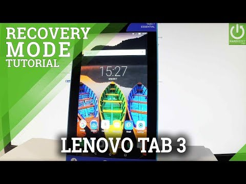 Recovery Mode on LENOVO Tab3 7 Essential - Enter & Quit Recovery