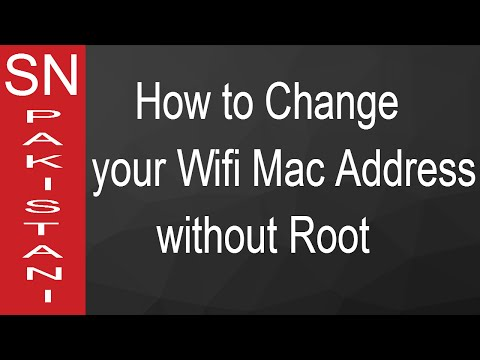 How to Change Wifi Mac Address in Android without Root In Urdu
