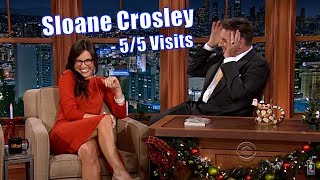 Sloane Crosley - Attractive Smart Author In A Red Dress - 5/5 Appearances In Non-Chronological Order