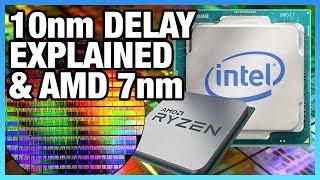 Intel 10nm Delay Explained & AMD