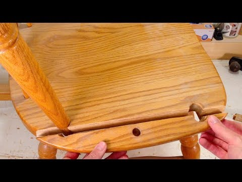 How to Fix a Wooden Chair Seat