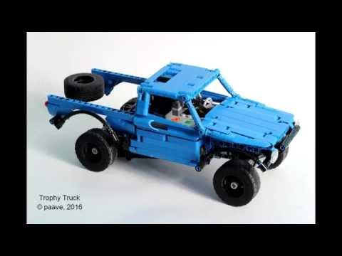 Lego Technic Building Instructions Trophy Truck Building