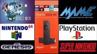 N64, SNES, NES, SEGA auf den FireTV zocken! [Tutorial]