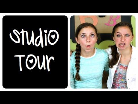 Studio Tour | BrooklynAndBailey & CuteGirlsHairstyles