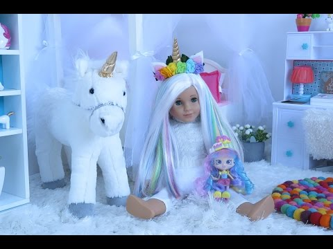American Girl Doll Unicorn Bedroom