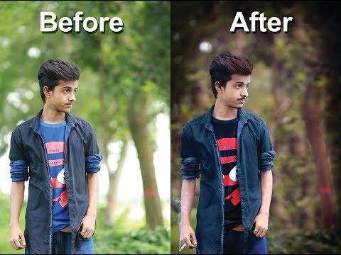 Photoshop 7.0  photo Edit bangla tutorial