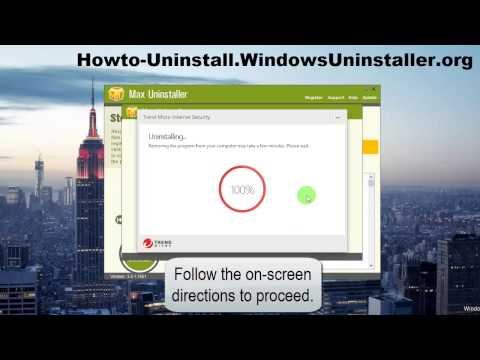 How to Fully Uninstall Trend Micro Internet Security 2016