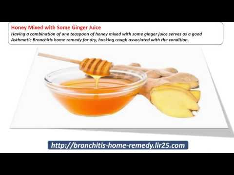 Home Remedy for Asthmatic Bronchitis