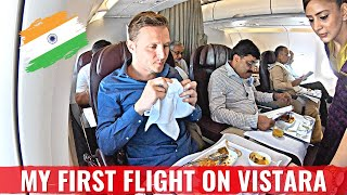 Review: AIR VISTARA A320 Business Class - INDIA