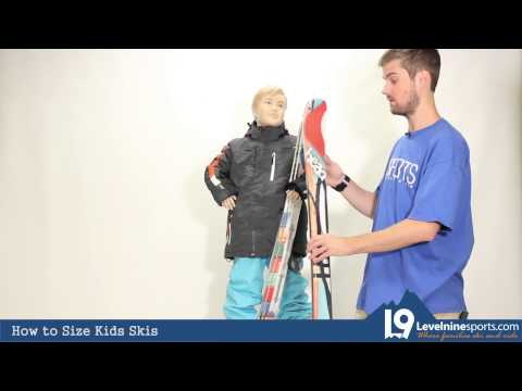 How to Size Kids Skis