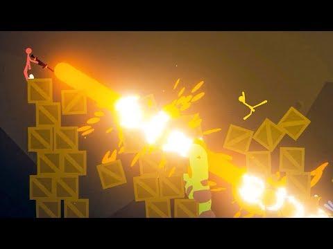 Download MP4 mega laser cannon stick fight