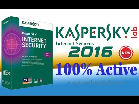 How to Activate Kaspersky Internet Security-2016, without a license key 100% free for 90 days