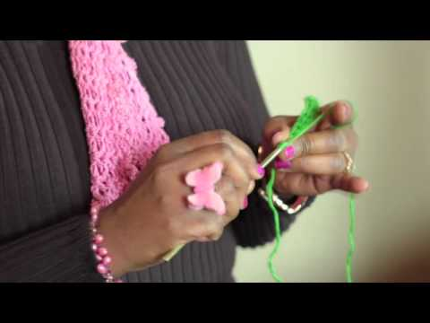 Making Ribbed Lines in Crochet