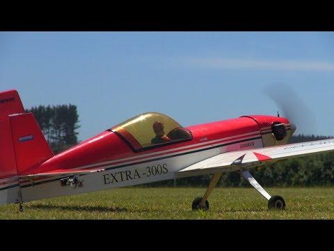 Nitro RC plane crashes from 200 feet, you won't believe the damage!