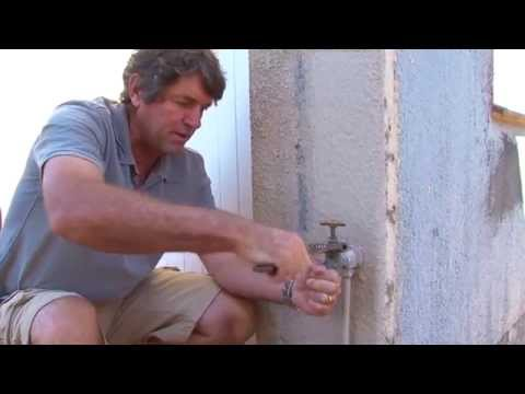 Changing a Garden Tap Washer