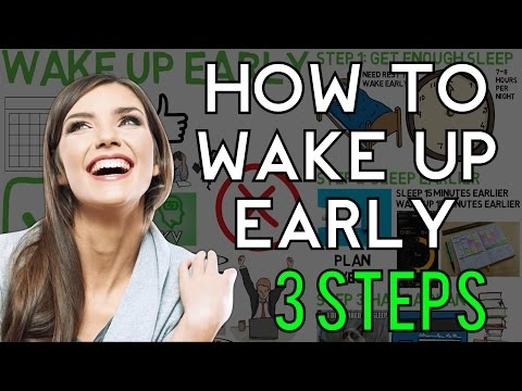 3 Simple Steps: HOW TO WAKE UP EARLY and NOT FEEL TIRED   How to Wake Up Early in the Morning