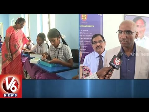 Social Welfare Secretary Praveen Kumar Face To Face | Tabs Distribution To Students | V6 News
