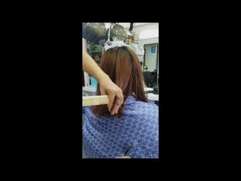 Very close step hair cut by Inrda Grg