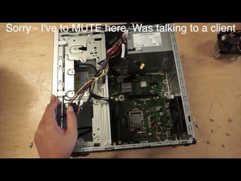 HP Desktop - Powers On But No Display - 550-150
